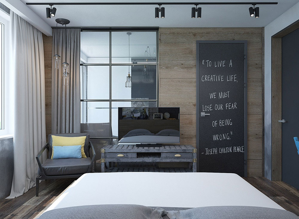creative-rustic-bedroom-ideas This is how you develop your own style in your new home