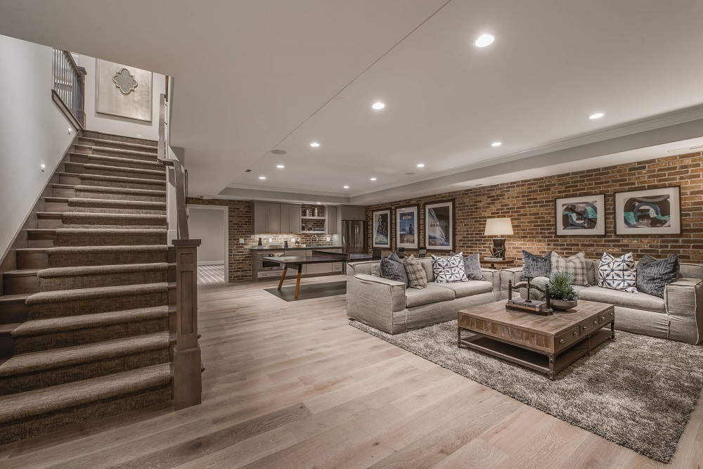 b16 How to finish a basement and make it look incredibly cool
