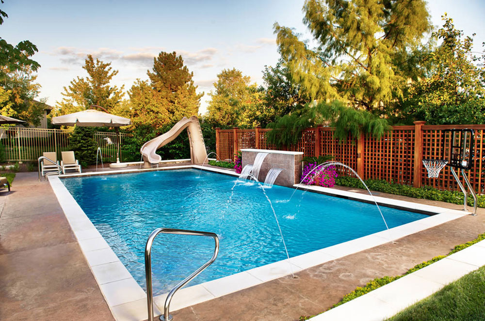 Geometric-Outdoor-Inground-Pools-of-Platinum-Pool Maintenance How To Heat A Swimming Pool For Free (Well, Almost Free)