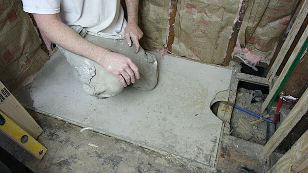 flat floor How to install a bathtub correctly and without stress