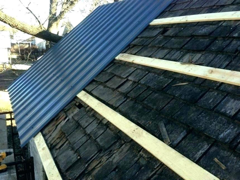 Roof1 How To Install Metal Roofs Over Shingles (Yes You Can)