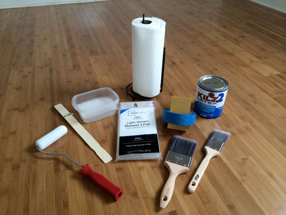 Paint materials How to paint a washbasin quickly and stress-free