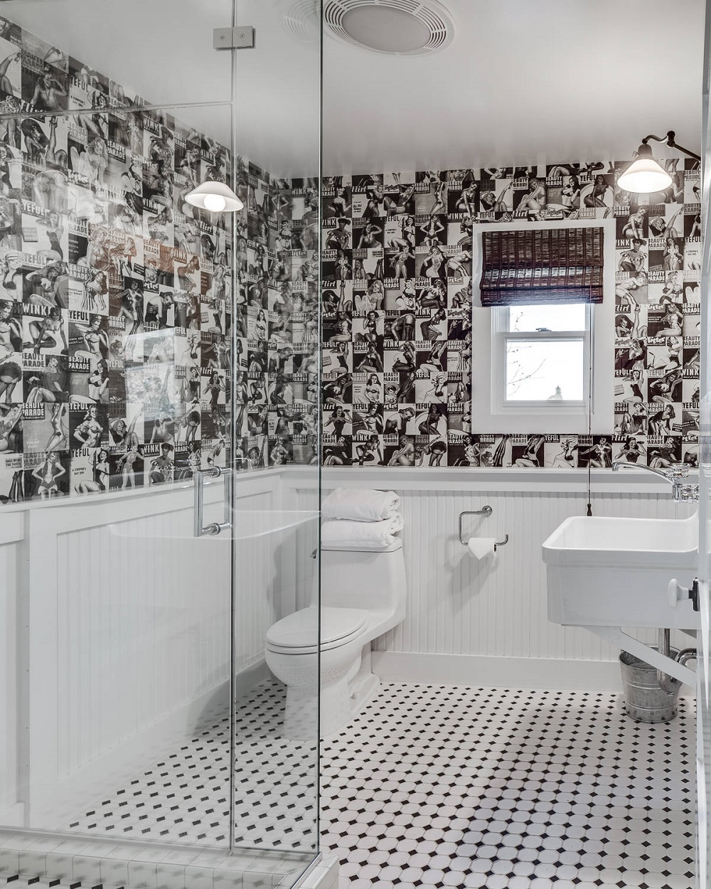 w14 How to take full advantage of these ideas for bathrooms with wood paneling