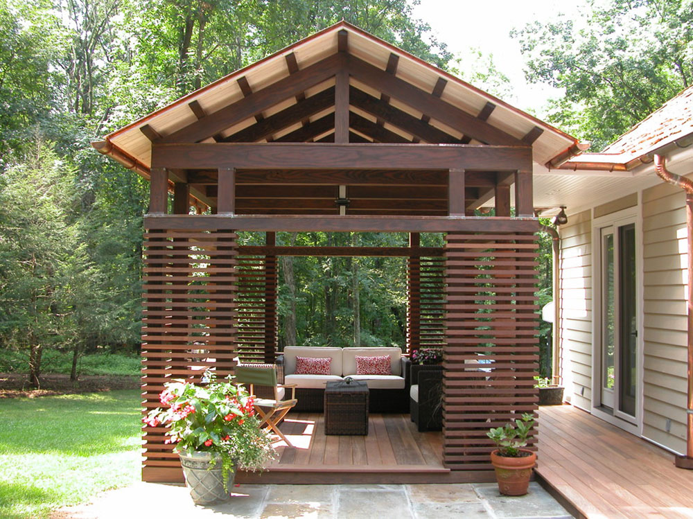 Pavilions-by-Train-Architects Ideas for backyard pavilions that beautify your green spaces