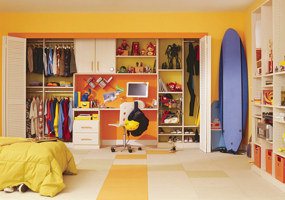 Kids-by-California-Closets Ideas for closet doors that you should try out in your room