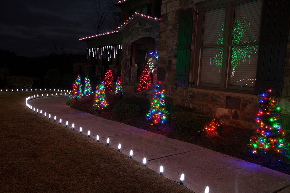 LED Outdoor Christmas Lights-by-Christmas Lights-Etc Outdoor Christmas Lights Ideas for decorating your home