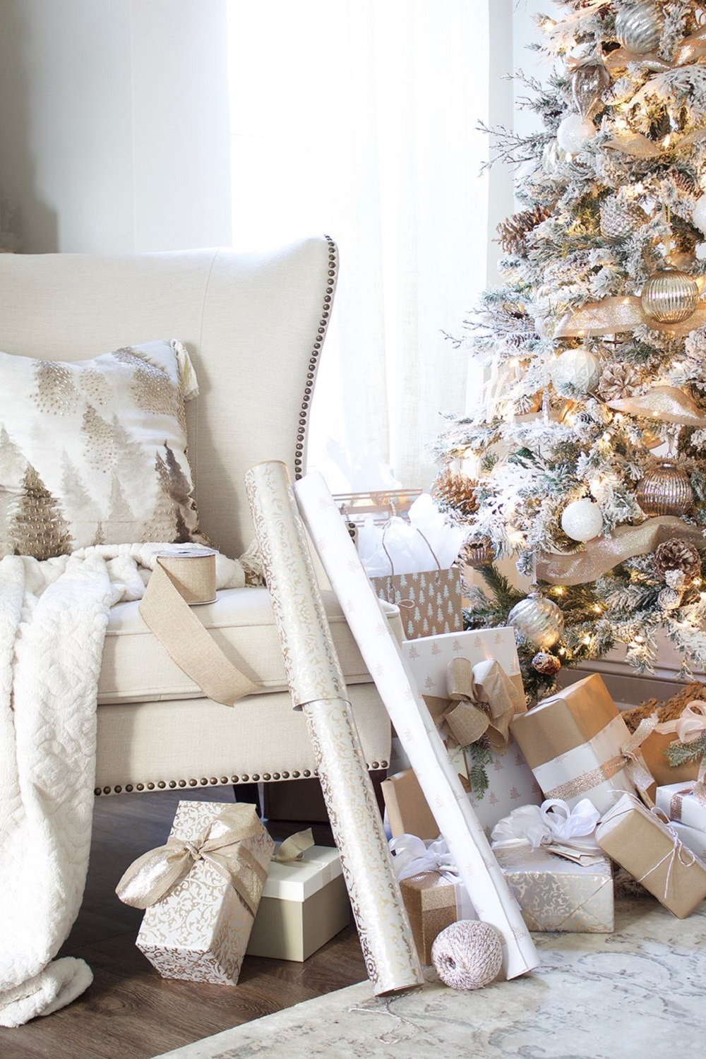 t4-2 ​​Ideas for modern Christmas decorations that are heartwarming