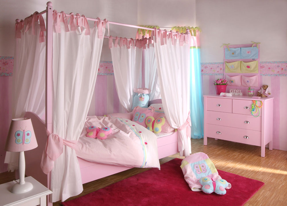 Butterfly-Girls-Bedroom-by-Toks-Aruoture Sweet room ideas that your daughter will love