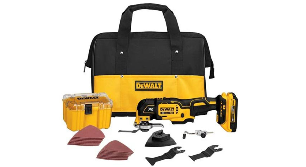 DEWALT-DCS355D1 Multi Tool Kit The best grout removal tool you can get from Amazon