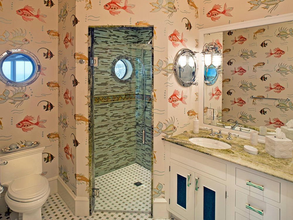 t1-4 The fantastic nautical bathroom decor and pictures that inspire you