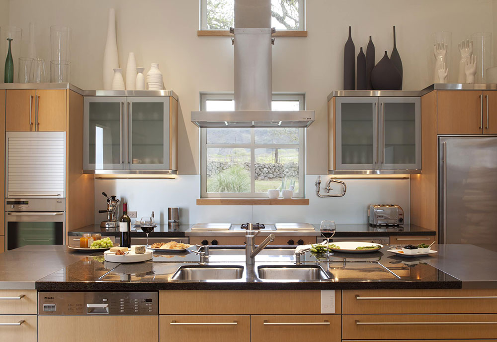 Kitchen-by-Remick-Associates-Architects-Master-Builders The problems with the ventilation of a kitchen exhaust fan