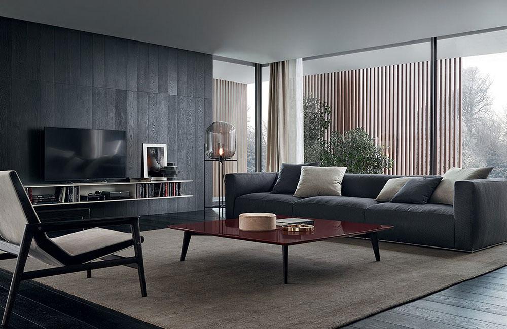 2 The specialties of the Poliform contemporary sofas