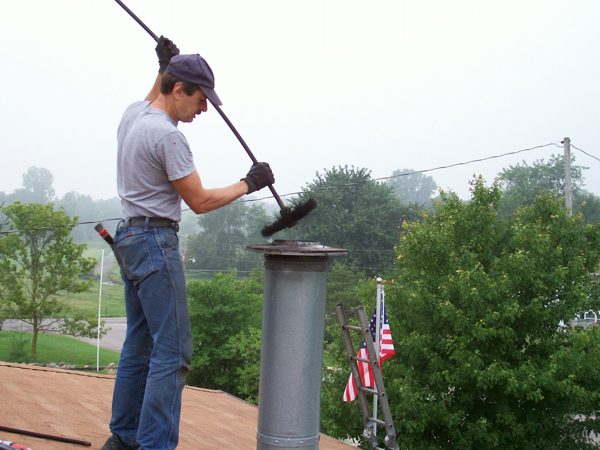 chimney2 How much does a chimney sweep cost?  Knowing cleaning costs
