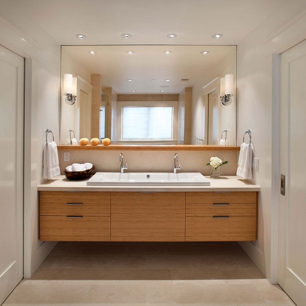 Modern-Classic-by-Sullivan-Design-Studio Where to hang wet towels in a small bathroom