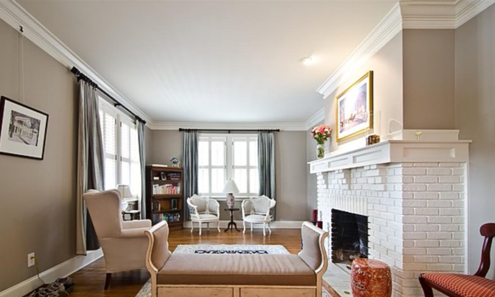 pix-1000x600 fireplace ideas made of white brick for your living room decor