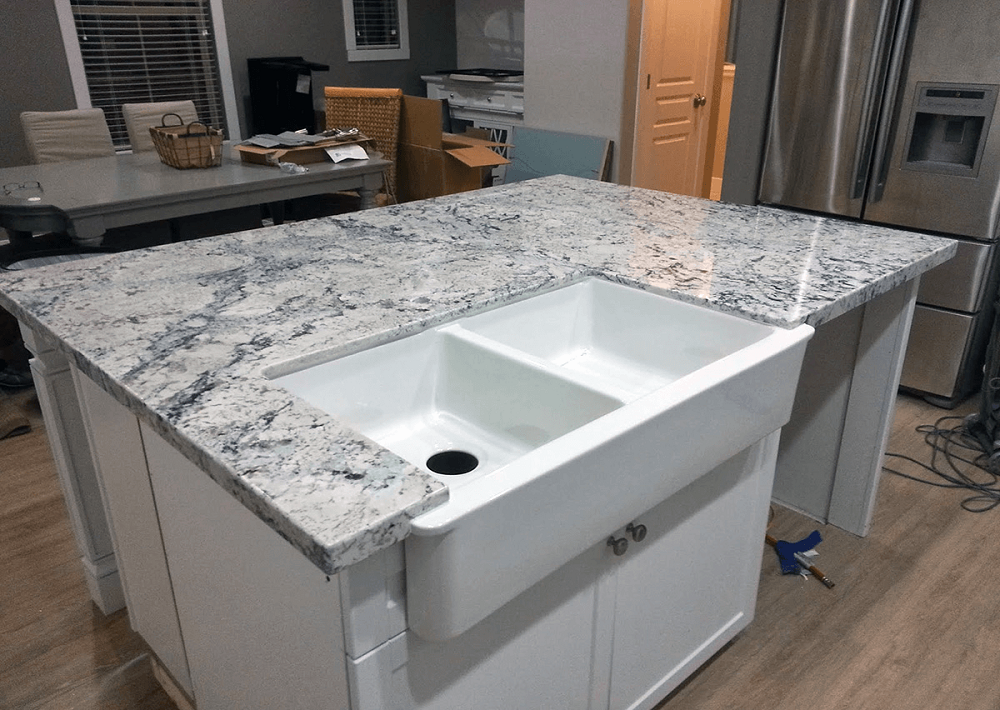 t7-1 white ice granite countertops, inspiration and tips for using them