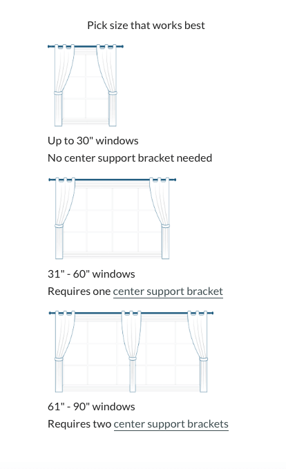 How to Measure for Curtain Rods - Curtains Up Blog | Kwik-Ha