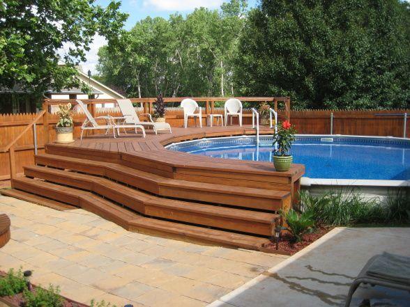 Above Ground Pools Decks Idea | ... Oasis - Patios Deck Designs .