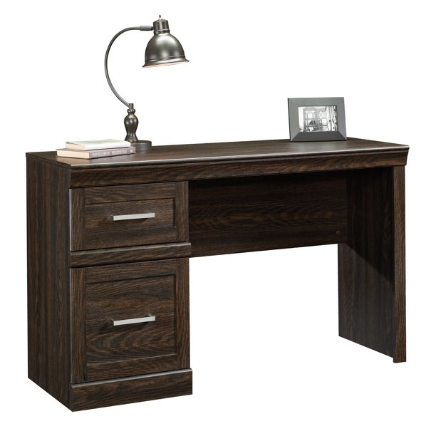 Better Homes & Gardens Glendale Mid Century Desk, Dark Oak Finish .