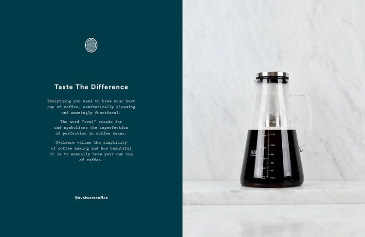Rebrand and Packaging Rejuvenation for Coffeeware Supplier .