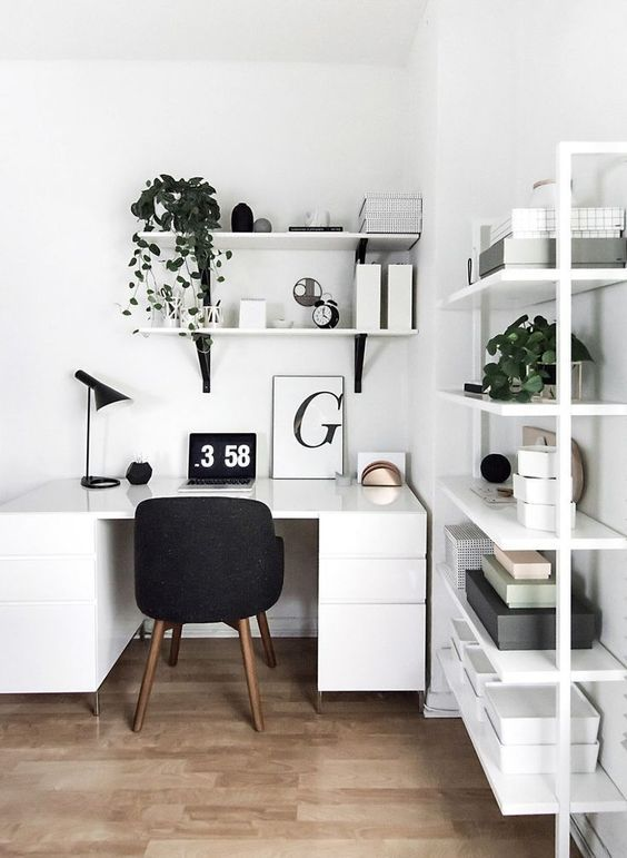 How to Add a Touch of Style to Your Home Office (Daily Dream Decor .