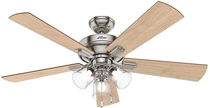 Hunter 54206 Transitional 52``Ceiling Fan from Crestfield .
