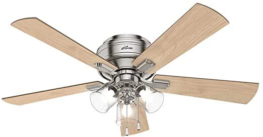 Hunter Fan Company 54209 Crestfield Indoor Low Profile Ceiling Fan .