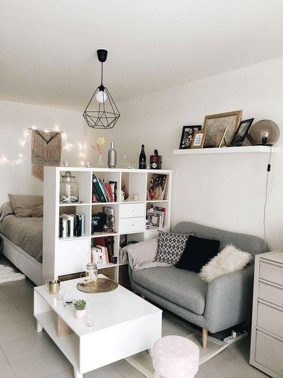 31 Apartment Decor To Inspire | Studio apartment decorating, Small .