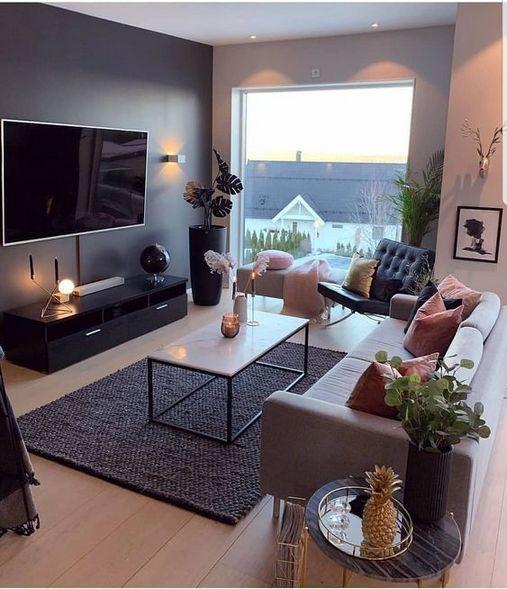 40 elegant small apartment decor living room idea 21 - Home Decor .