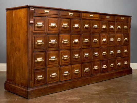 Antique French Apothecary Cabinet | Apothecary cabinet, Cabinet .