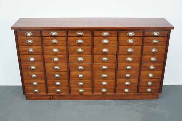 British Mahogany Apothecary Cabinet, 1930s for sale at Pamo