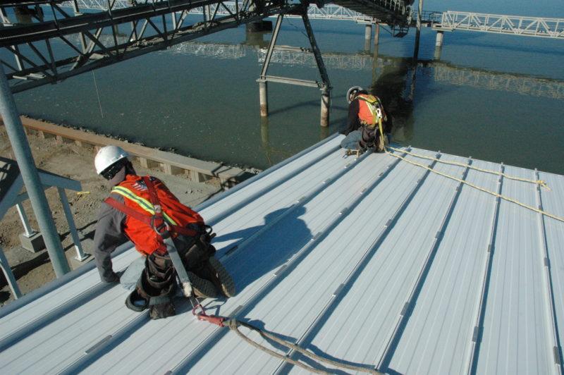 Installing Low-Slope Metal Roofing | Metal Construction Ne