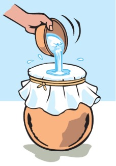 Methods of treating water at home