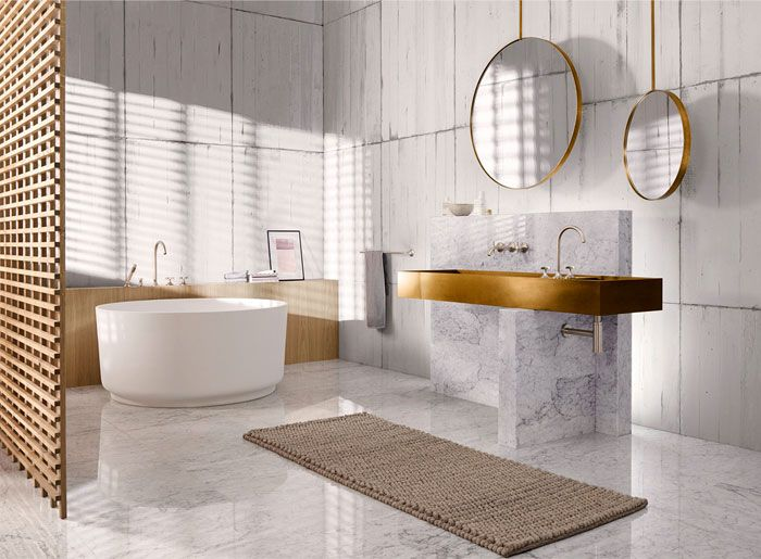 Bathroom Trends 2019 / 2020 – Designs, Colors and Tile Ideas .