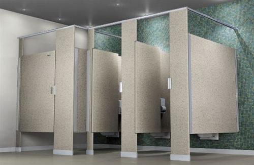 Commercial Bathroom Partitio