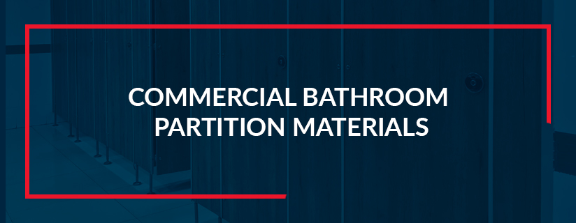 Commercial Bathroom Partition - One Point Partitio