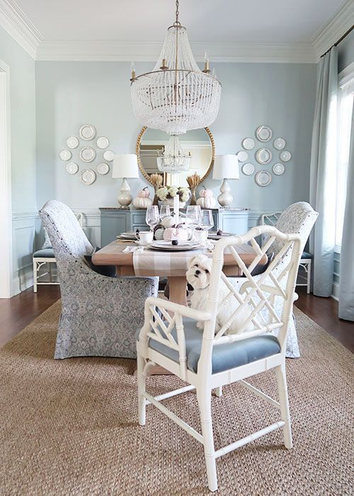 Fall Home Tour! Neutral and sophisticated fall home decor is easy .