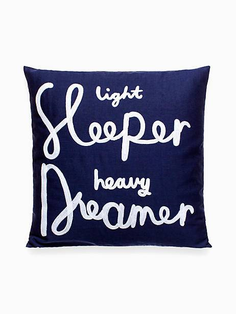 Kate Spade Light Sleeper Decorative Pillow, Navy | Decorative .
