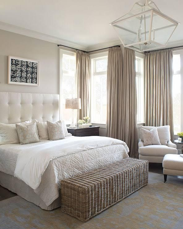 Ivory and Beige Bedroom | Cozy master bedroom, Master bedrooms .