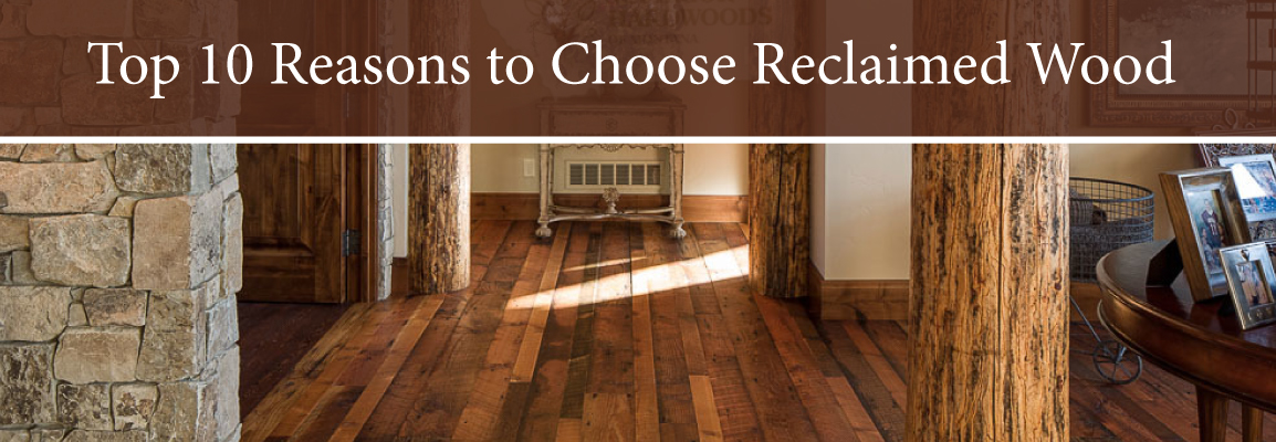 Benefits of reclaimed wood cladding