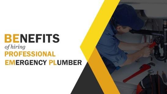 Benefits of hiring a professional emergency plumb