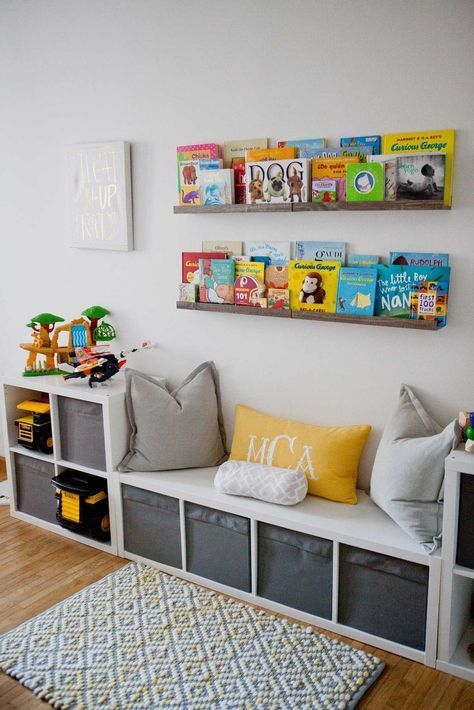 30 Best Playroom Ideas for Small and Large Spaces | Storage kids .