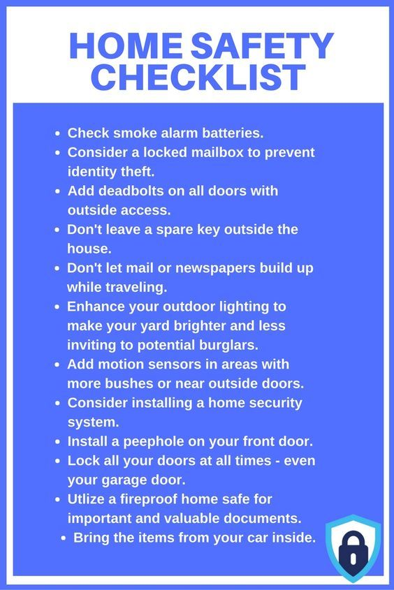 Protect your home and family with these home safety tips by .
