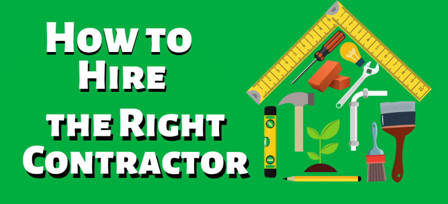 6 Tips for Hiring a Contractor - Clark Howa