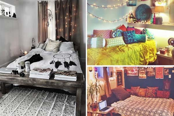 35 Charming Boho-Chic Bedroom Decorating Ideas - Amazing DIY .