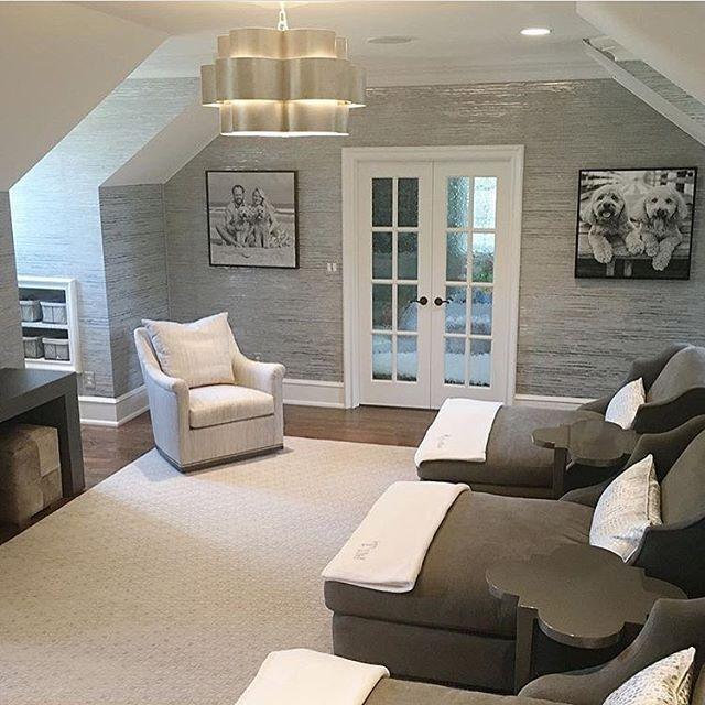 Fun & funky bonus room ideas for your home inspiration. #bonusroom .