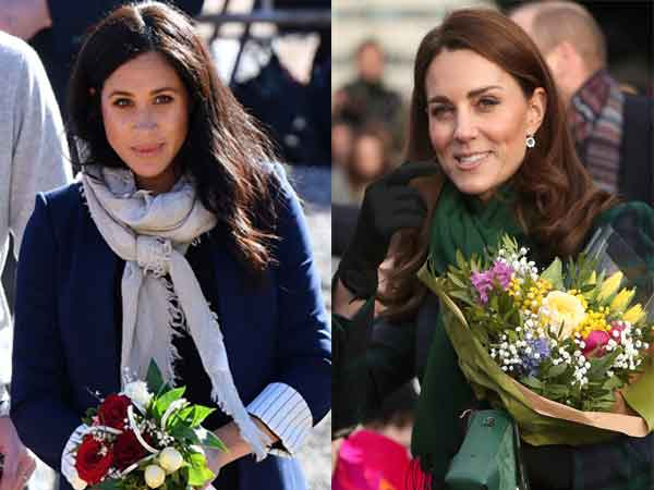 How Meghan Markle and Kate Middleton have become 'Pregnancy Twins .