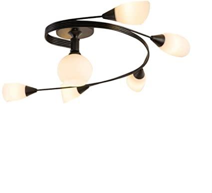 Amazon.com : TEHWDE Modern LED Chandelier Ceiling Lamp Indoor .