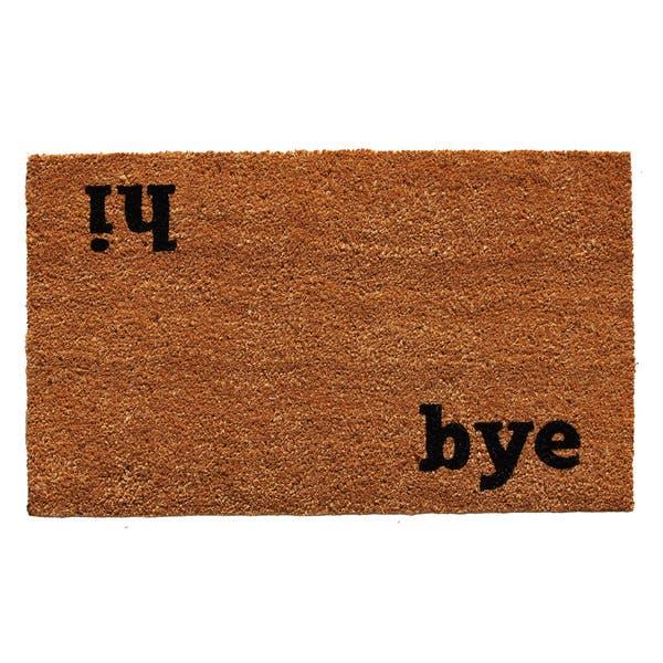 Shop Hi Bye Doormat - Overstock - 143963