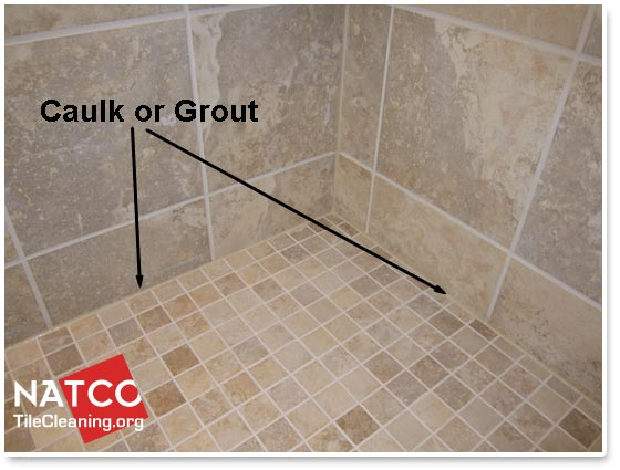 Where Should Grout and Caulk be Installed in a Tile Show